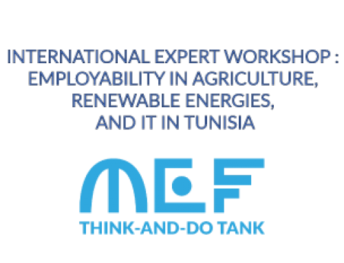 INTERNATIONAL EXPERT WORKSHOP : EMPLOYABILITY IN AGRICULTURE, RENEWABLE ENERGIES, AND IT IN TUNISIA