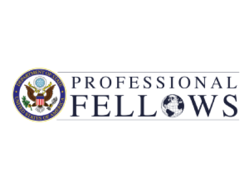 PROFESSIONAL FELLOWSHIP PROGRAM (PFP) WITH LEGACY INTERNATIONAL